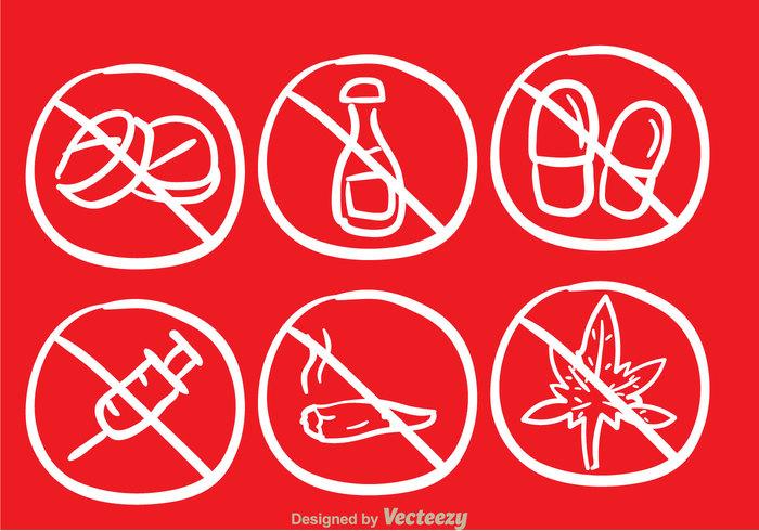 sketch red pill no drugs no drug medicine Marijuana injection health draw doodle death dead danger cigarette capsule alcohol