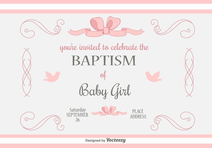 tag shower religion party invite invitation holy girl first communion cross church christian child card baptism background baby