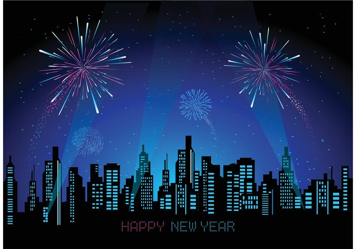 year vibrant urban sparks skyline sky showing shiny Pyrotechnics pink party night new years eve new year fireworks Independence illuminated holiday glowing firework festival exploding event Eve dark color cityscape city celebration bright background backdrop