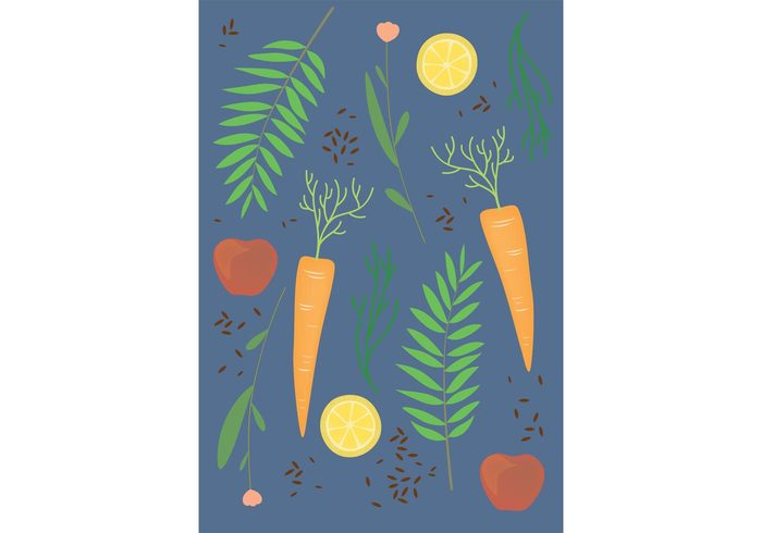veggie pattern vegetables vegetable pattern vector background seeds seed pattern seed seamless pattern seamless plants plant pattern nature leaf herb pattern Herb fresh food food pattern food flower floral carrot pattern background