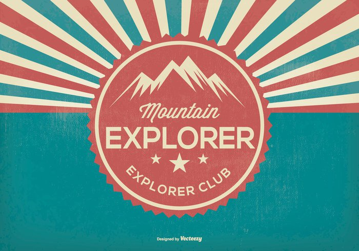 wilderness vintage vector background vector typography trip travel Trail tourist tourism top symbol sunburst style silhouette scout retro Recreation range person park mountaineering mountaineer mountain explorer mountain man logo label Journey isolated holding hiking hiker hike graphic flag figure extreme explorer Explore exploration expedition elements design concept club climbing Challenge camping badge backpack background Adventure activity