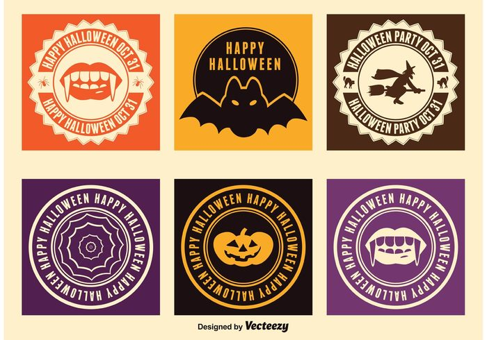web vector typography type Treat text tag symbol sticker spooky special sign set seasonal season scary retro pumpkin October 31 October night labels label illustration icon horror holiday happy halloween haloween party halloween labels halloween ghost Fall element design dark creepy concept celebration card business bat banner background autumn
