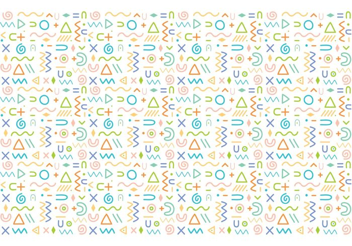 Abstract Pattern Background Vector 108382 - WeLoveSoLo