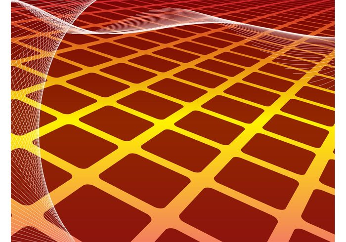 wireframes wallpaper template squares perspective lines line geometric shapes background backdrop abstract