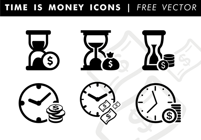 website icons Timing time is money time snad clock sand money minimal icons minimal media icons isolated infographics icons hourglass free vector free time is money vector Free icons flat icons dollars Descriptive coins clock cash black white black icons bills apps icons