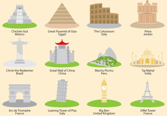 world wonder world wonders of the world wonder warhol wall view vector vacation trips travel traditional tourism Tomb temple template taj mahal structure spirituality sight seven wonders of the world Seven religion pyramid Place petra pattern oriental old Minaret mexican map landmark india history famous exterior east earth dome design culture chinese building asia art around the world architecture Archeology ancient 7 wonders of the world