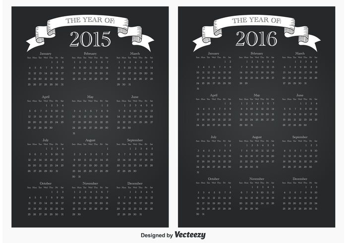 year calendar year white weeks weekly week vertical vector time template summer spring simple September seasonal season planner plan page organizer October number November months monthly month May March light june July January illustration grid graphic february diary design December day dats date daily chalkboard style chalkboard calender calendar 2016 calendar 2015 calendar business black background autumn August April 2016 2015