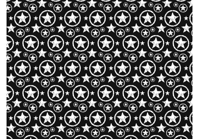 Street Art Stars vector stars pattern stars stained seamless round grunge geometric shapes dirty Clothing print circles