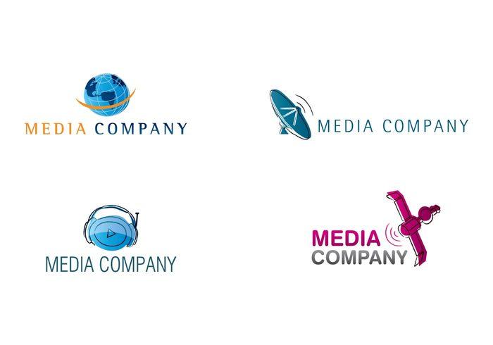 world stocking satellite media services media headphone globe communication