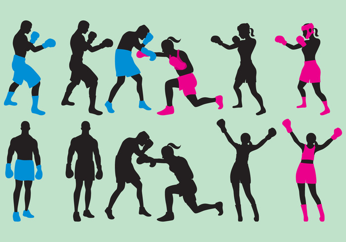 Workout woman training strong stance sport silouette sillouette silhouette Punch protective protection pose people martial man and woman silhouettes man and woman silhouette isolated head gloves fitness fighter Fight female exercise boxing Boxers boxercise boxer athlete