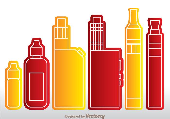 vaporizer vaping vape smoking smoke nacotine liquid jiuce electronic e-cig cigarette bottle atomizer