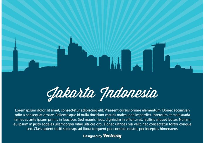 view urban travel tower tourism structure skyscraper skyline silhouette postcard Place panoramic panorama outline mosque modern Metropolis landmark Jakarta indonesia horizon downtown Destination cityscape city silhouette city business building black Backgrounds background asia architecture