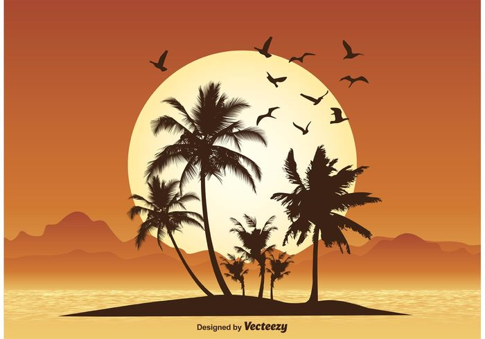 water view vector vacation tropical illustration tropical tree travel sunset illustration sunset sunrise sunny sun summer sky shore seascape sea scenic scenery scene sand sailboat postcard peaceful paradise palm Outdoor ocean nature marine landscape lagoon island illustration holiday exotic evening dawn Coastline coast bird beauty beautiful beach background