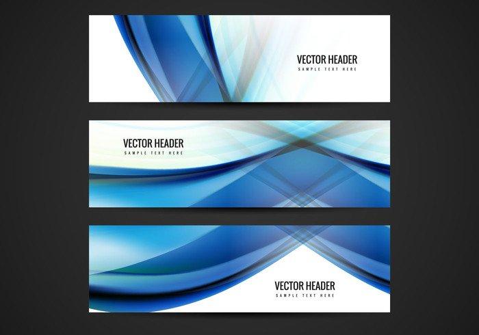 website wave technology tech shining poster modern header fondos card banner background abstract