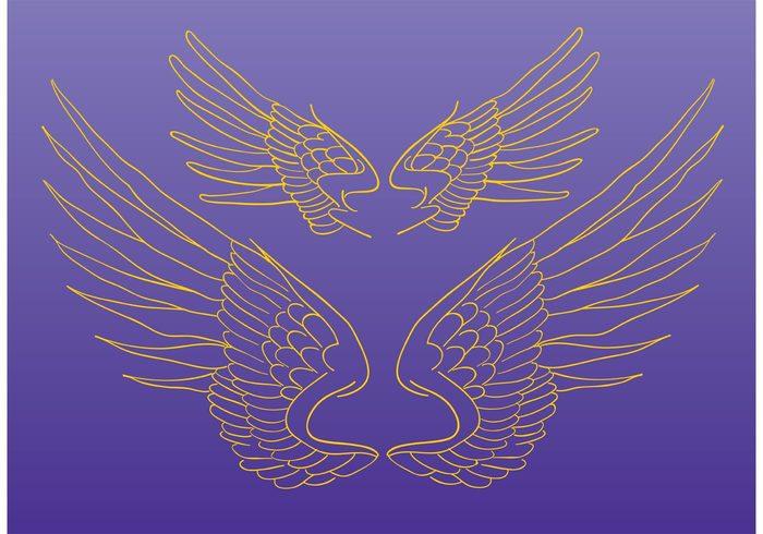 wings spiritual pigeon peace magic holy Heaven freedom fly flight feather fantasy falcon fairytale eagle dove clip art bird animal angel
