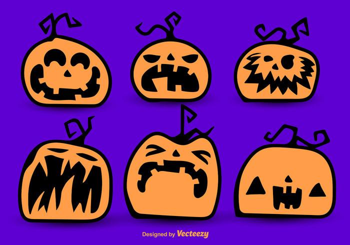 smiling smiley Smile set season scary sad pumpkin orange October lantern jack horror holiday happy happiness halloween funny face decorative decoration celebration cartoon backlit autumn