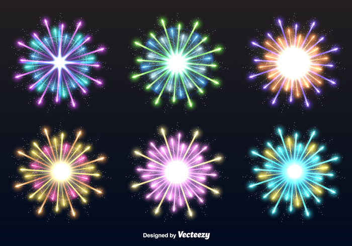 year vector star sparkle set rays petard night new multicolored light isolated illuminated holiday Flash flame firework firecracker fire festivities festive festival explosion explode cheerful celebration celebrate carnival birthday anniversary