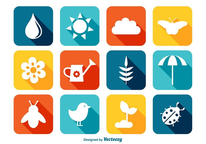 watering can trendy icons theme sun sprout spring season spring icons spring icon spring colors spring set seasonal season rain pot plant nest modern long sahdow ladybug isolated icon four leaf clover flower elements egg easter cute colorful collection clip art christian butterfly bright bird beetle bee April