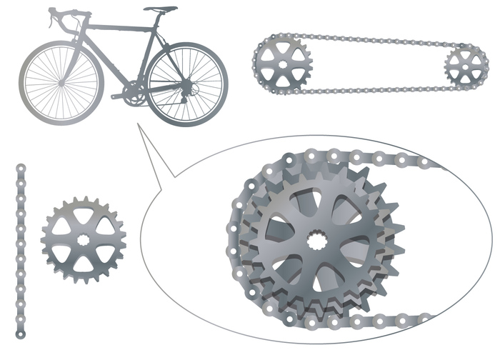 wheel vehicle steel sprocket sport speed riding rear Part object metallic metal mechanic machine linkage iron illustration icon graphic Gearwheels gearwheel gearing gear equipment drive derailleur cycling cycle Component circle chainring chain black biking bike sprocket bike bicycle