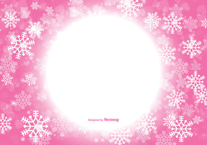 photo collection pink snowflake backgrounds wallpaper