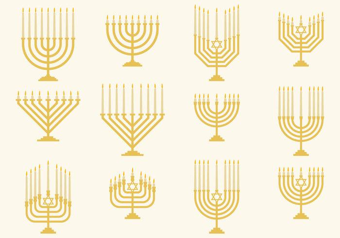 vector traditional Tradition temple symbol silhouette religious religion Menorah menora judaism judaica jewish Isolated On White illustration icon holiday holder hanukkiah Hanukkah Hanukah festival faith culture chanukah celebration candle candelabrum burning
