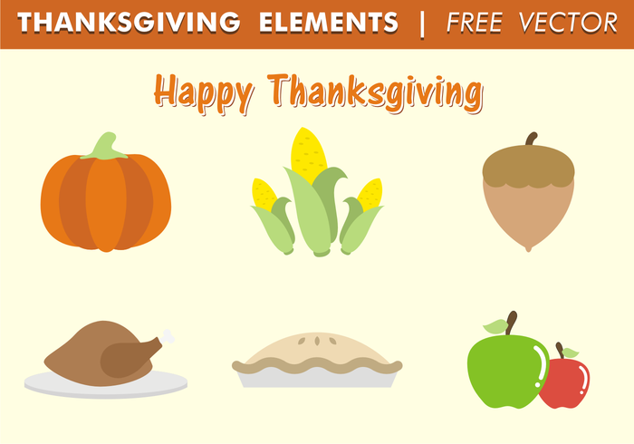 vector turkey thanksgiving thanks season reunion pumpkin pie November icons holiday happy thanksgiving happy free vector food Fall elements ear of corn dinner design culture corn celebration apples