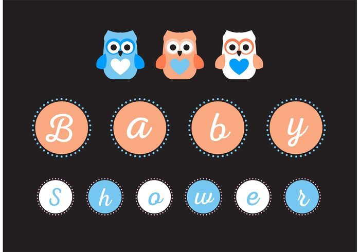 welcome sweet shower pretty party owl newborn modern kid invitation happy girl fun family cute owl cute congratulation child celebrate cartoon card boy Born birthday birth bird baby shower owl baby shower baby arrival announcement animal adorable