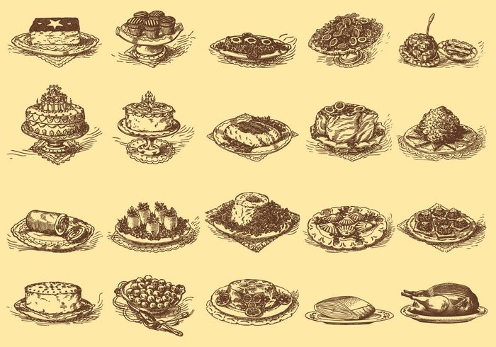 white vintage vegetarian vegetable traditional strawberry shortcake sketch shortcake set sauce restaurant plate pasta old Mediterranean meat meal lunch isolated illustration Healthy hand gourmet gastronomy food drawn drawing doodle dish dinner Diet delicious Culinary Cuisine cooked collection cake background