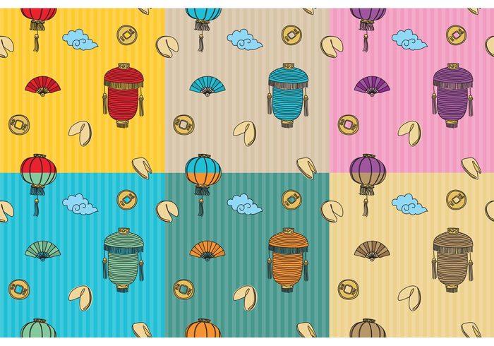 wallpaper Tradition seamless oriental mandarin lantern lamp horoscope fortune cookie wallpaper fortune cookie pattern fortune cookie background fortune cookie Fortune festival culture cookies chinese wallpaper chinese pattern Chinese lantern chinese background chinese china Asian