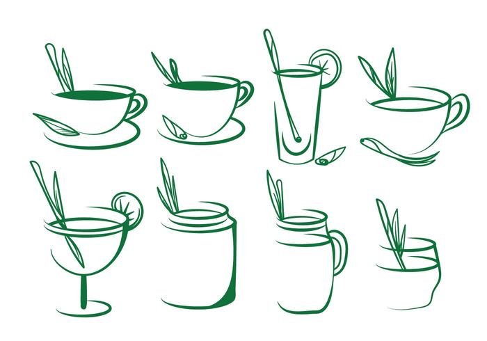 water vegetable vector tropical traditional tea taste Spice smell set recipe plant organic object nature natural mint menu lemongrass lemon leaf herbal Herb health green grass glasses garden fresh drink cup Composition background aromatic aromatherapy aroma