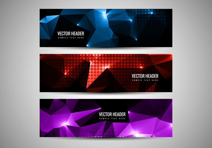 website web trendy shiny poster polygonal header polygonal background polygin modern header glowing fondos decorative colorful card banner background abstract