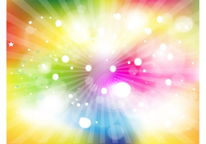 wallpaper vector stars rays radiant orb glowing Free Background colorful background image abstract