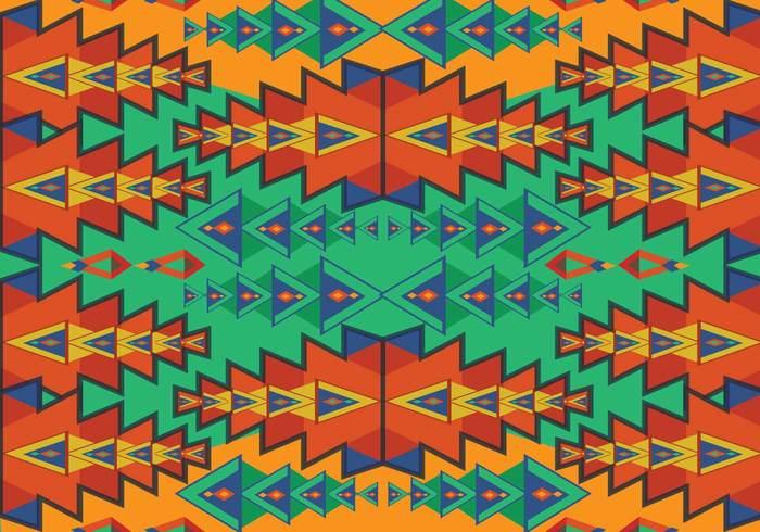 tribe tribal print pattern orange native mystic mexican line latin american Indigenous indian historical ethnicity decorative decoration culture colorful civilization border background aztec patterns aztec pattern Aztec ancient american