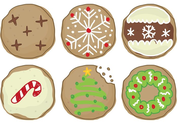 vanilla Tasty sweet sugar snack pastry isolated icing Homemade holiday gourmet glazed food eating dessert delicious Cookie christmas desserts christmas dessert christmas cookie chocolate Biscuit bakery baked