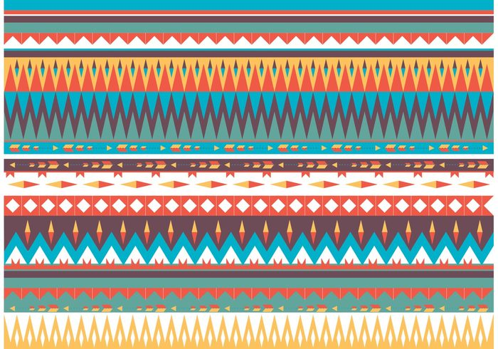 tribe tribal pattern tribal traditional red print pattern orange native american patterns native american pattern native mystic motif latin american indian ethnicity decorative decoration culture colorful border background american