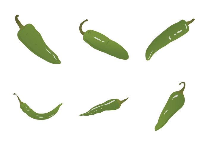 vegetable Spicy Spice pepper hot pepper hot green hot pepper green food cook