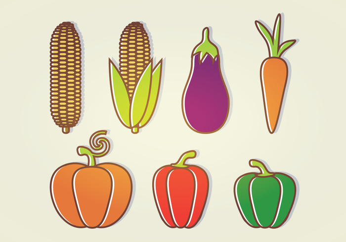 vegetables variety vegetables icon variety red pepper pumpkin pepper organic icons icon healthy food Healthy green pepper food Fall ear of corn corncob corn carrot autumn