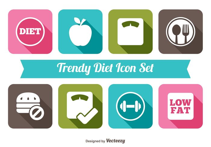 yoga Weightlifter weight water waist trendy symbol strong slim scale muscle meter measure long shadow internet illustration icons icon set heartbeat heart Healthy health gym food fitness exercise Dumbbells Dieting diet icons Diet computer button beauty apple aerobics activity