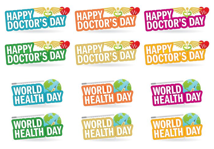 yellow world wellness vector up text symbol subjective stethoscope silhouette sign shape Safe red prescription practitioner national meeting medicine medical March map lifestyle isolated illustration hospital holiday heath heart Healthy health greeting doctors doctor Diseases day creative Conceptual checkup check celebration cartoon care card calendar background artistic africa