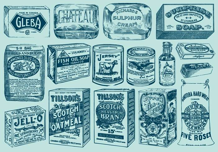 worn Woodcut white vintage vector tomato tea symbol supermarket store Spice soup soap box siphon shopping set scratched sauce retro retail product painting packaging old oil merchandise illustration icon grocery graphic food engraving eating drawing commercial cereal cartoon Canned box bottle background antique