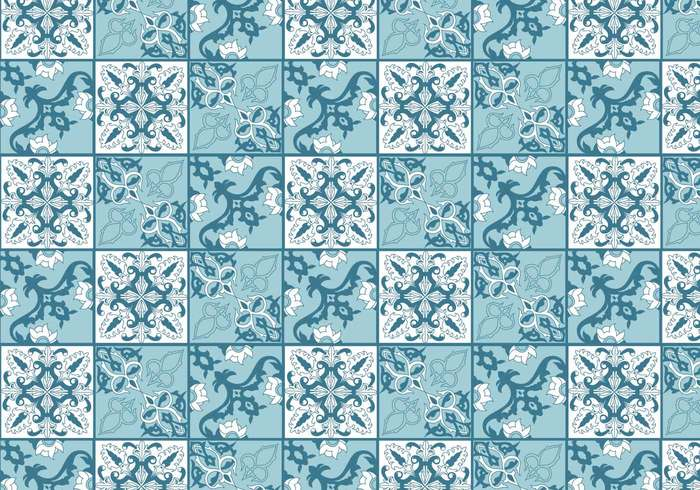 worn vintage typical traditional tiny tiles texture square retro Repetition repeated portuguese tile Portuguese Portugal pattern paint old mosaic mixed mix historical green elements Detail design decoration decorated Colourful Colour colorful colored color ceramic blue background Backdrops artistic art abstract