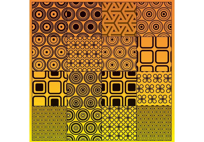 tile texture Textile square seamless retro repeat print pattern ornament modern line illustration graphic geometric fabric element curl circle background abstract