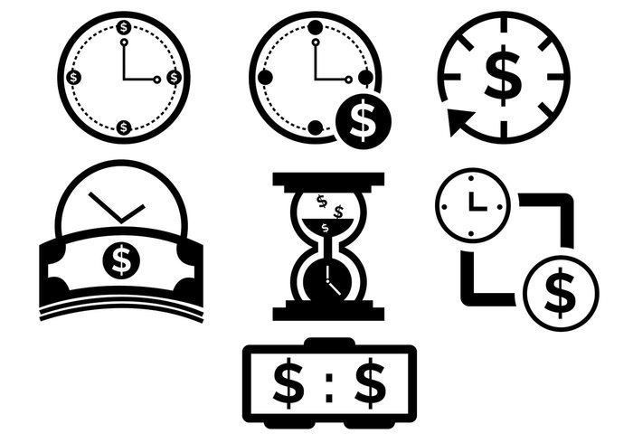 timer time is money icon time is money time success speed sand glass rate money icon money measure icon financial icon financial finance currency clock