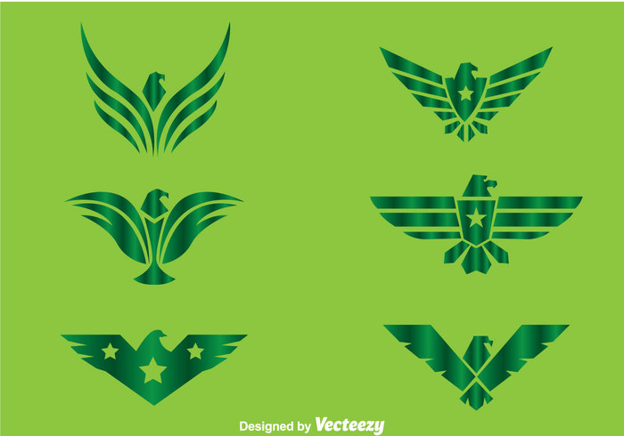 wing symmetric shape patriotic logo line head hawk logos hawk logo hawk green fly emblem eagle bird logo bird