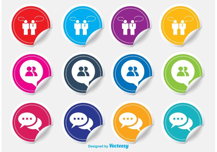 yellow website web trendy template talk symbol sticker icon stamp square speech speak sign shape shadow seal round red quality pictogram online modern metro live chat sticker live chat live label information icon set icon help geometric flat curled sticker curled communication Colourful colorful circle Chat icons chat icon chat button bubbles badge app
