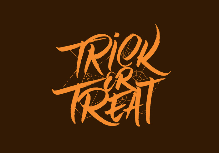 Written web vector typography trick-or-treat trick Treat stroke spider web spider scary poster party October made Lettering invitation ink holiday hell happy hand haloween halloween party halloween grunge front flyer dry draw design dark cover card brush banner art