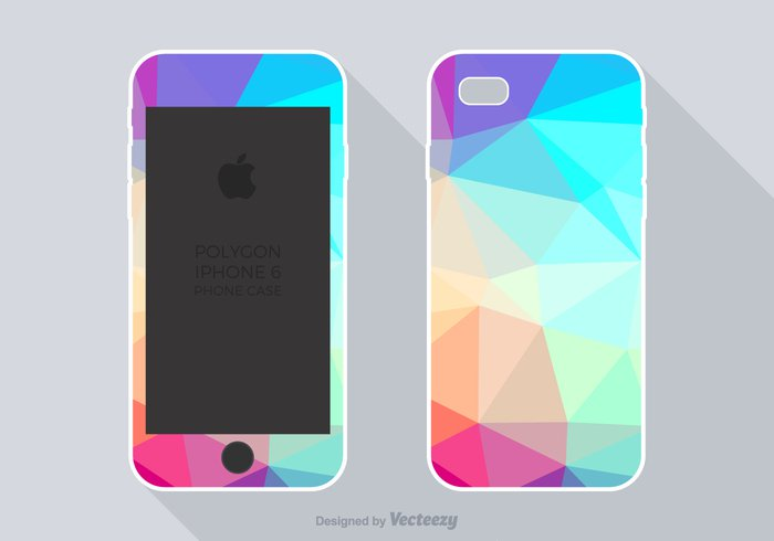 wallpaper wall vector triangle template shape set screen quality Protector print polygonal polygon plastic phone case phone pattern modern mobile iphone geometric frame digital design decorative decoration cover concept collection cell case background back artistic 6