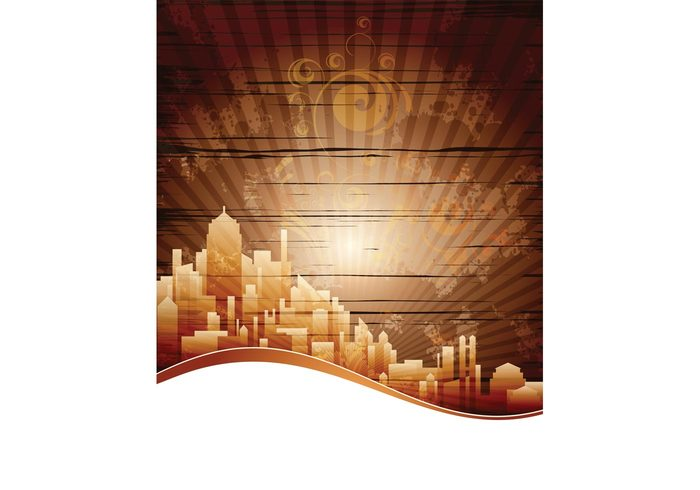 urban template skyscraper grunge city building banner background architecture abstract