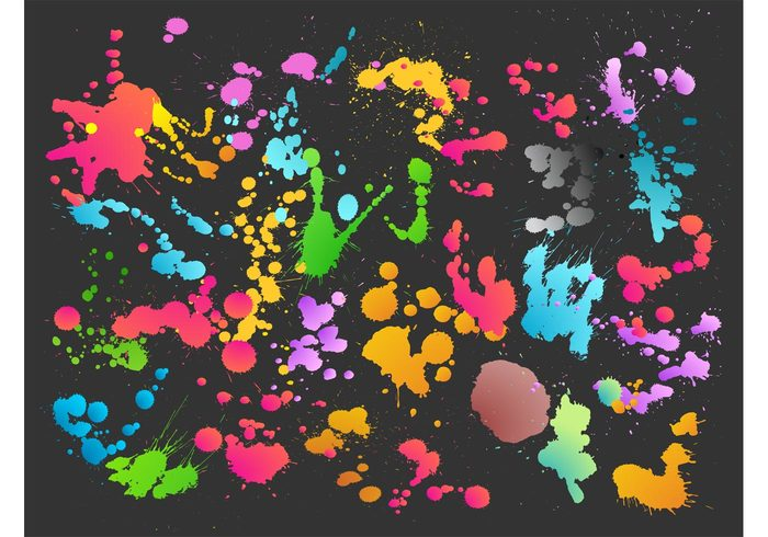 wallpaper stained splatter splashes Splashed drops drips dirty background backdrop abstract