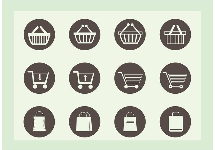 web symbol store shopping icon shopping shop sale retail package online market isolated icon credit commercial cart card buy business